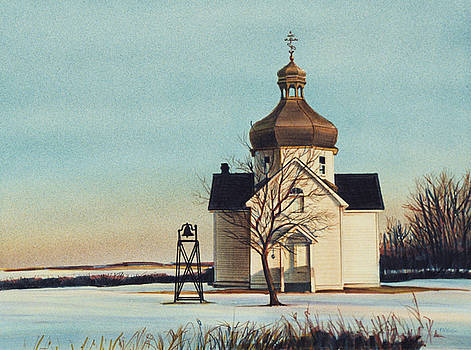 A Country Church by Lois Hogg