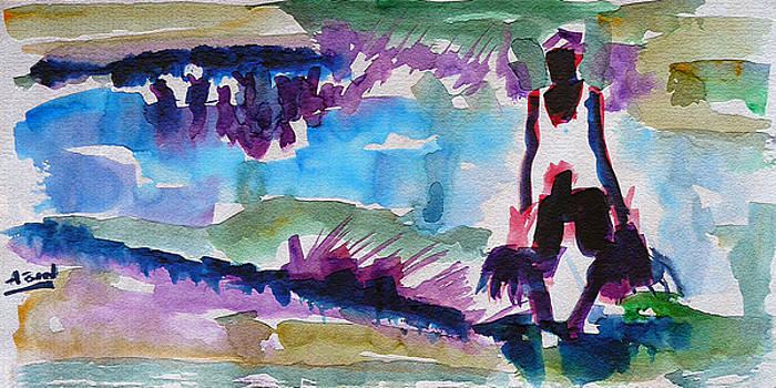 A Farmer by Abin Raj
