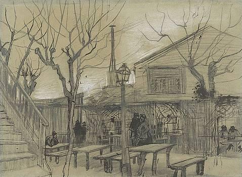 A Guinguette Paris, February - March 1887 Vincent van Gogh 1853 - 1890 by Artistic Panda