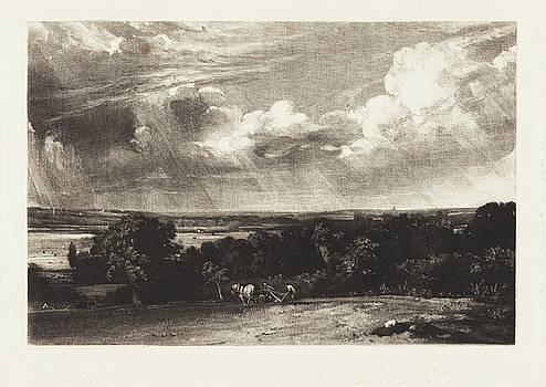 David Lucas after John Constable - A Summerland