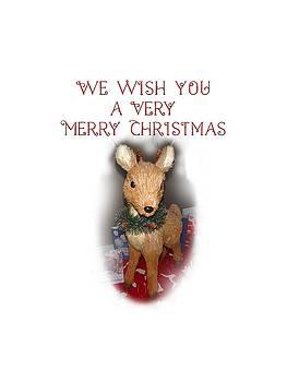 A Very Merry Christmas by Judy Hall-Folde