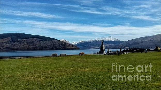 A View Over Loch Fyne at Inverary 2 by Joan-Violet Stretch