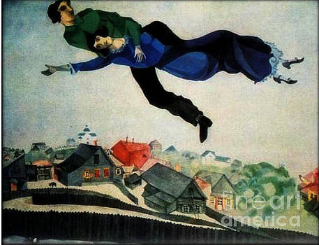Chagall - Above The Town