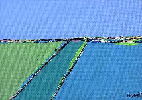 Abstract landscape  by Brooke Baxter Howie
