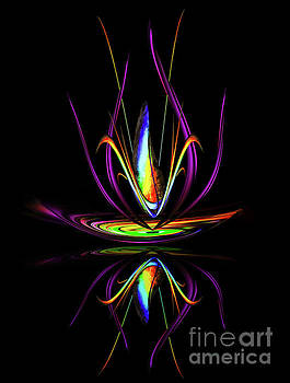 Abstract perfection - Magical Light and Energy by Walter Zettl