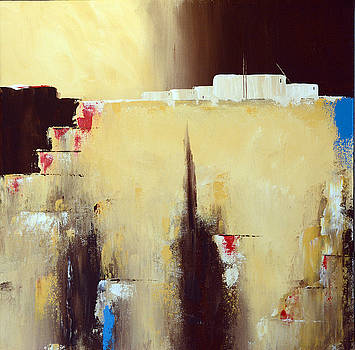 Abstract Pueblo by Ed Wyatt