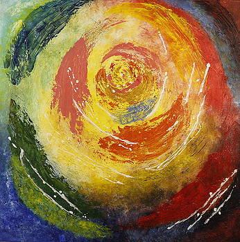 Abstract Rose by Seema Varma