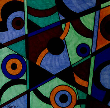 Abstract Shapes 5 by Anne Robinson