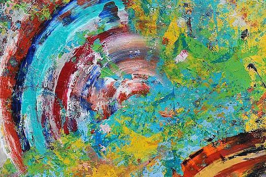 Sumit Mehndiratta - Abstract spin