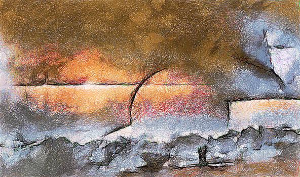 Abstract Sunrise by Mario Carini