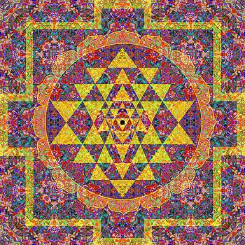 Abundance Mandala by Julian Venter