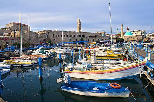 Acre port by Kobby Dagan