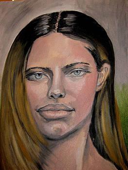Adriana Lima by Thomasina Marks