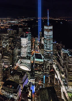 Aerial Tribute in Light by Michael Lee