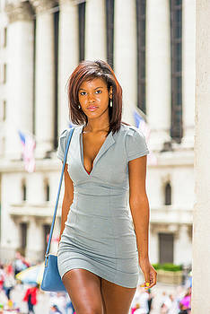 Alexander Image - African American Businesswoman traveling, working in New York