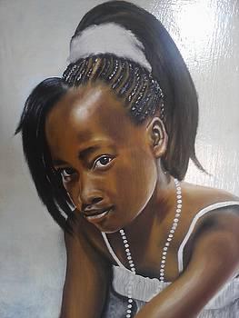 African Beauty by Shadrach Muyila