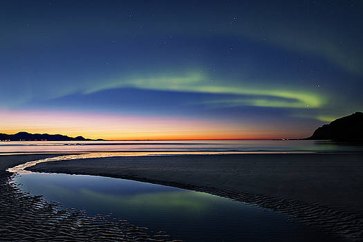 After sunset II by Frank Olsen