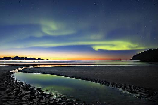 After sunset IV by Frank Olsen