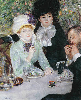 Pierre-Auguste Renoir - After the Luncheon