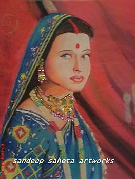 Aishwariya Rai Bachchan by Sandeep Kumar Sahota