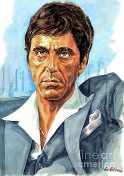 Al Pacino Scarface by Spiros Soutsos