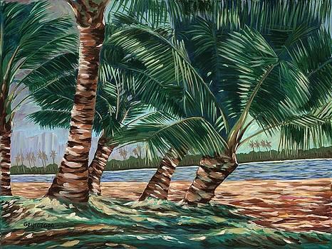Ala Moana Beach by Larry Geyrozaga