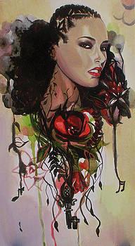 Alicia Keys by Lauren Penha