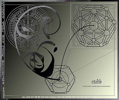 Robert G Kernodle - Alien Technical Drawing