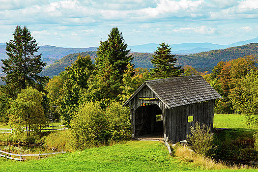 A.M. Foster Covered Bridge by Jeff Folger