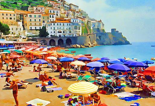 Dennis Cox - Amalfi Beach