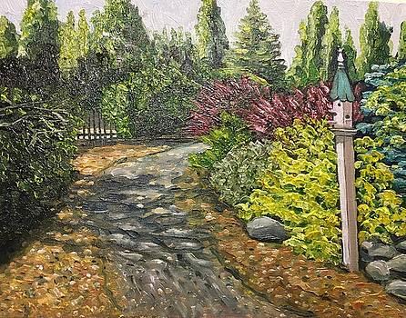 Amelia Park Summer Path by Richard Nowak