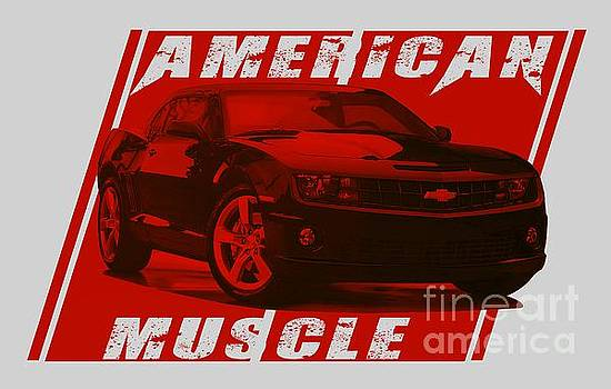 American Muscle Camaro by Paul Kuras