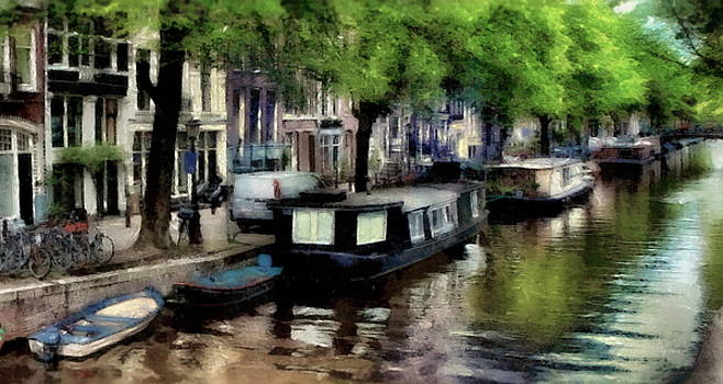 Amsterdam Canals by Russ Harris
