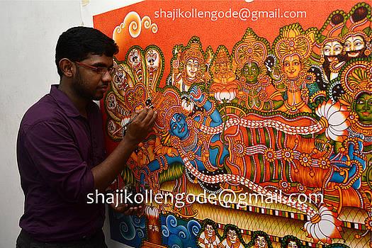 Anathasayanam by Shaji Kollengode