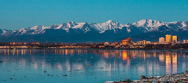 Anchorage Skyline by Daryll Vispo