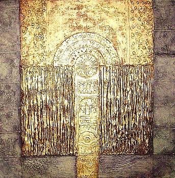 Ancient Golden Temple by Bernard Goodman