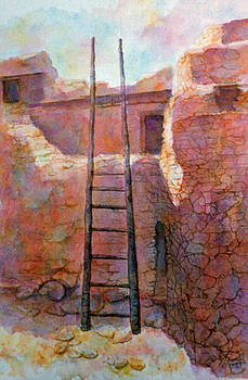 Ancient Walls by Ann Peck