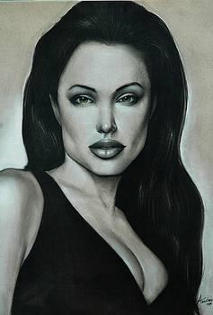 Angelina Jolie by Anastasis  Anastasi