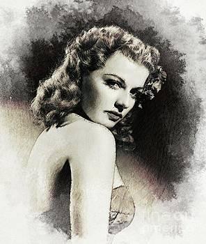 John Springfield - Ann Sheridan, Vintage Actress