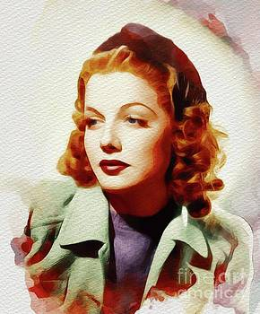 John Springfield - Ann Sheridan, Vintage Movie Star