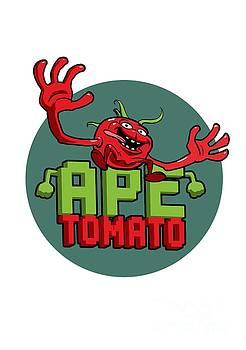 Nicolas Palmer - Ape Tomato Grey Green