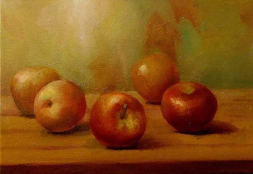 Apples by Eun Yun