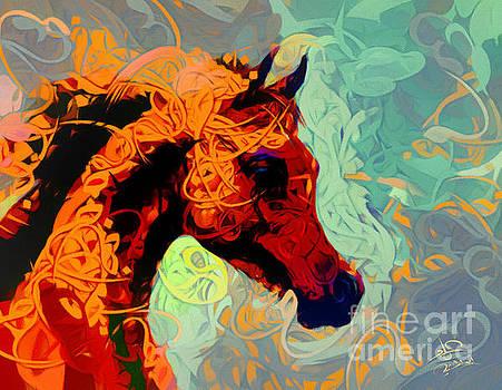 Arabian Horse 4 by Imad Abu shtayyah