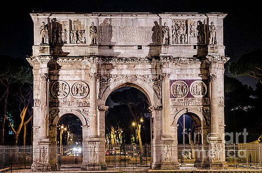 Julian Starks - Arch of Constantine near the Colosseum #1
