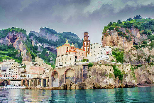 Lisa Lemmons-Powers - Arches in Atrani