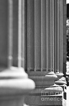 Architectural Columns in a Classic Federal Buuilding by ELITE IMAGE photography By Chad McDermott