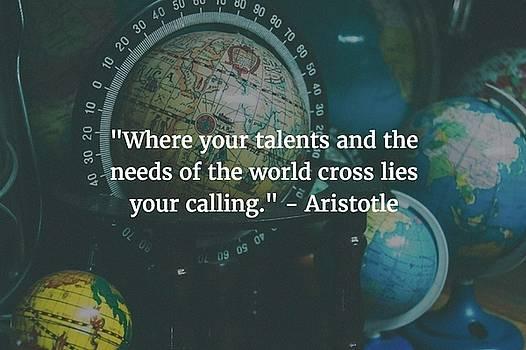 Aristotle Quote by Matt Create