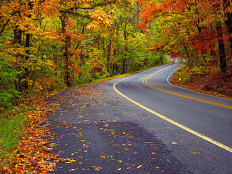 Arkansas Scenic Pig Trail Bypass by Carolyn Wright