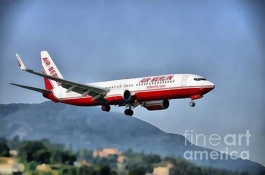 George Atsametakis - Arriving at Corfu airport