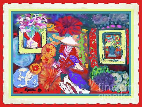 Asian Influences Ii by Shirley Moravec